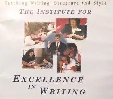 The Institute For Excellence In Writing: Teaching Writing: Structure & Style 9-Disc Set
