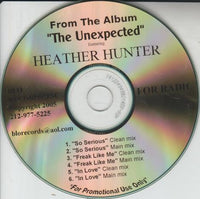 Heather Hunter: So Serious / Freak Like Me / In Love Promo w/ Artwork
