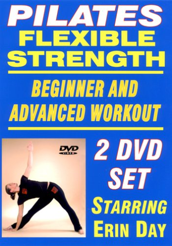Pilates Flexible Strength: Beginner & Advanced Workout 2-Disc Set