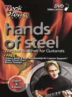 Hands Of Steel: Workout Routines For Guitarists w/ Lesson Book