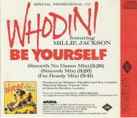 Whodini: Be Yourself Autographed Promo w/ Artwork