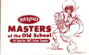 Rhino Masters Of The Old School: 1st Quarter 1997 Urban Sampler Promo w/ Artwork