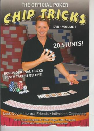 The Official Poker Chip Tricks Volume 1