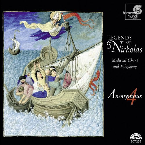 Legends Of St. Nicholas: Medieval Chant & Polyphony: Anonymous 4 w/ Book & Artwork