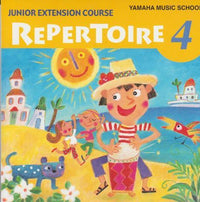 Yamaha Music School: Junior Extension Course: Repertoire 4 w/ Artwork