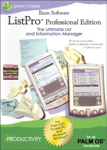 ListPro: The Ultimate List & Information Manager 3 Professional