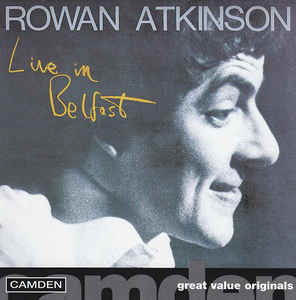 Rowan Atkinson: Live In Belfast w/ Artwork