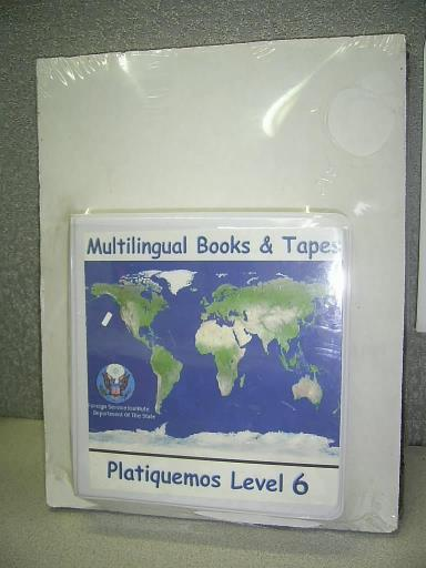 Multilingual Books & Tapes: Platiquemos Level 6: Spanish CDs & Book