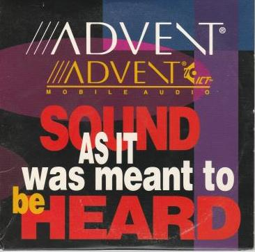 Advent Mobile Audio: Sound As It Was Meant To Be Heard w/ Artwork