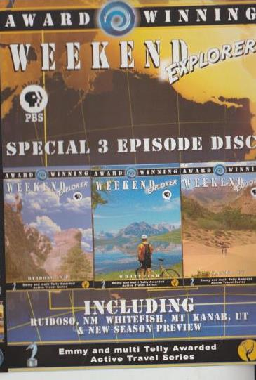 Weekend Explorer: Special 3 Episode Disc: Ruidoso, NM / Whitefish, MT / Kanab, UT