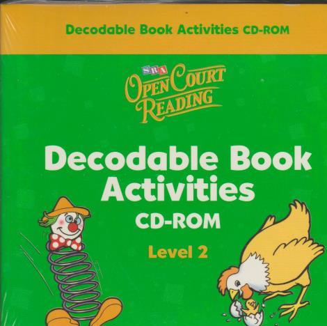 Open Court Reading: Decodable Book Activities CD-ROM Level 2