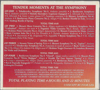 Tender Moments At The Symphony 4-Disc Set w/ Artwork