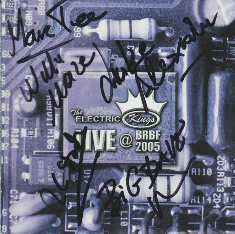 The Electric Kings: Live at BRBF 2005 w/ Autographed Artwork