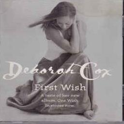 Deborah Cox: First Wish Promo w/ Artwork