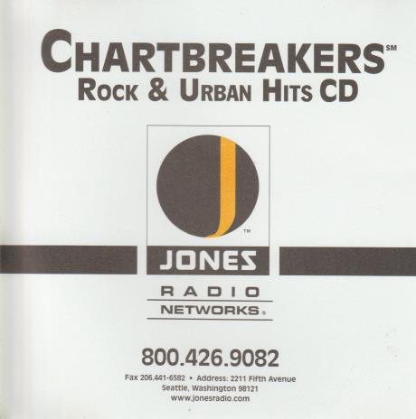 Chartbreakers Rock & Urban Hits: December 9, 2005 CHW-8549 Promo w/ Artwork