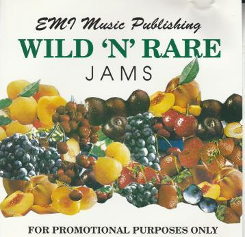 EMI Music Publishing: Wild 'N' Rare Jams Promo w/ Artwork