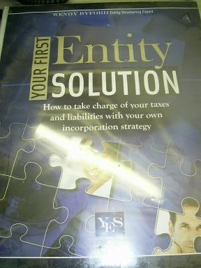 Your First Entity Solution