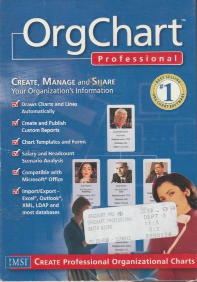 OrgChart 3 Professional w/ Manual
