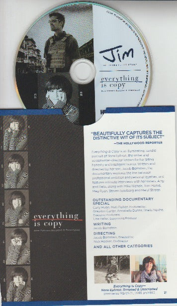 Everything Is Copy & Jim: The James Foley Story: For Your Consideration