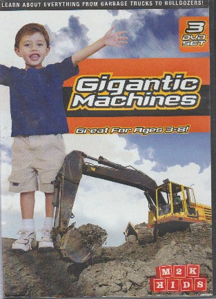 Gigantic Machines 3-Disc Set