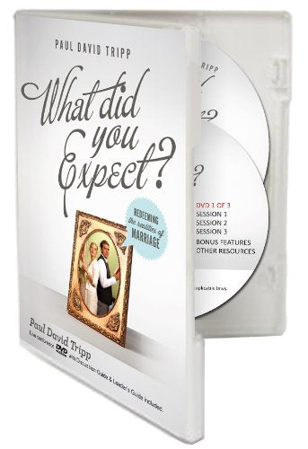 What Did You Expect?: Redeeming the Realities of Marriage 4-Disc Set