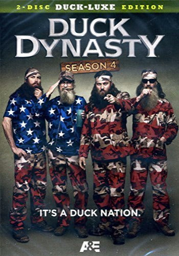 Duck Dynasty: Season 4 Duck-Luxe 2-Disc Set