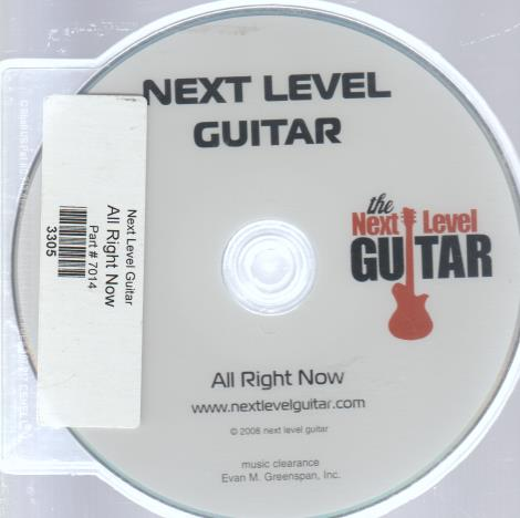Next Level Guitar: All Right Now