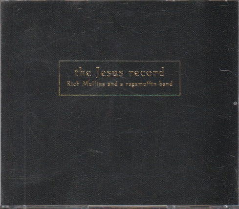Rich Mullins And A Ragamuffin Band: The Jesus Record 2-Disc Set Advance Promo w/ Artwork