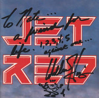 Jet Red: Jet Red w/ Willie Hines Autographed Artwork