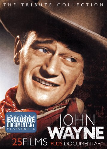 John Wayne: The Tribute Collection 4-Disc Set w/ Metal Tin