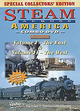 Steam Across America Combo Volumes 1 & 2 Special Collectors'