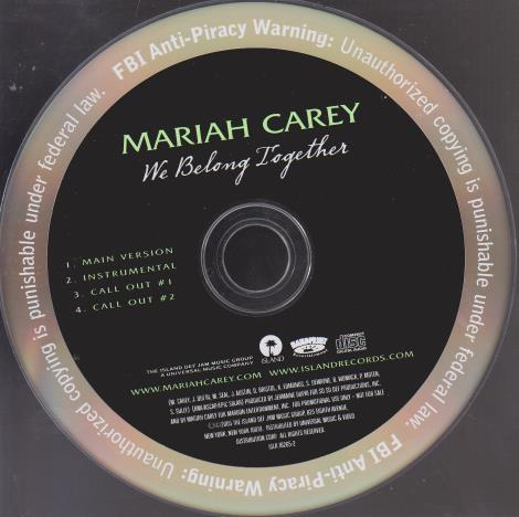 Mariah Carey: We Belong Together Promo