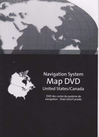 GM Navigation System Map Disc: United States & Canada 2010 9.3