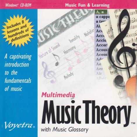 Multimedia Music Theory With Music Glossary