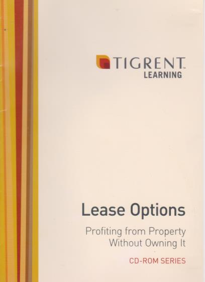 Lease Options: Profiting From Property Without Owning It