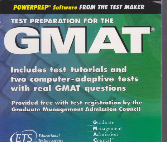 Powerprep: Test Preparation For The GMAT 3.0