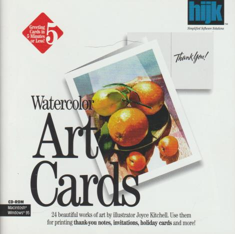 Watercolor Art Cards