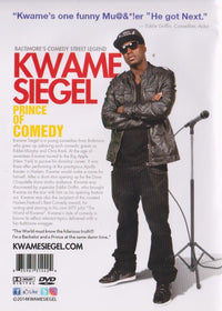Kwane Siegel: The Prince Of Comedy Signed - NeverDieMedia