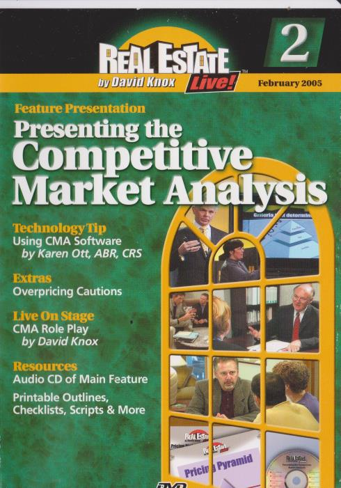 Real Estate Live: Presenting The Competitive Market Analysis 2 - NeverDieMedia