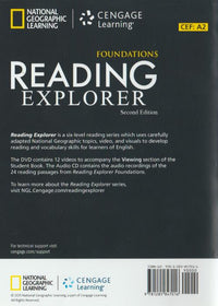 Reading Explorer Classroom Audio CD/DVD Package 2-Disc Set