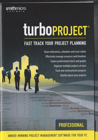 TurboProject Professional 4 w/ Manual