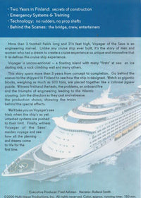 Voyager Of The Seas: Building The World's Largest Cruise Ship w/ Artwork