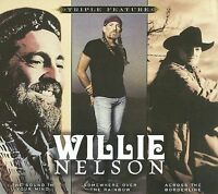 Willie Nelson: Triple Feature 3-Disc Set w/ Artwork