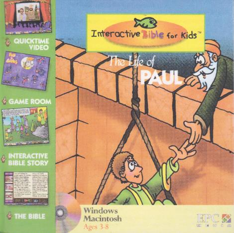 Interactive Bible For Kids: The Life Of Paul