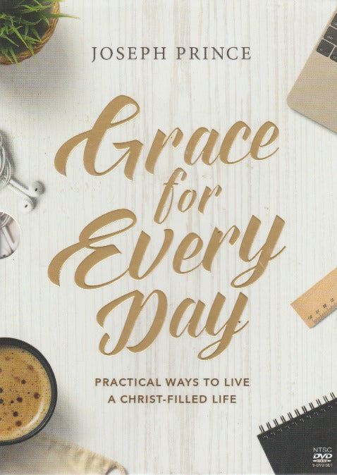 Grace For Every Day: Practical Ways To Live A Christ-Filled Life 5-Disc Set