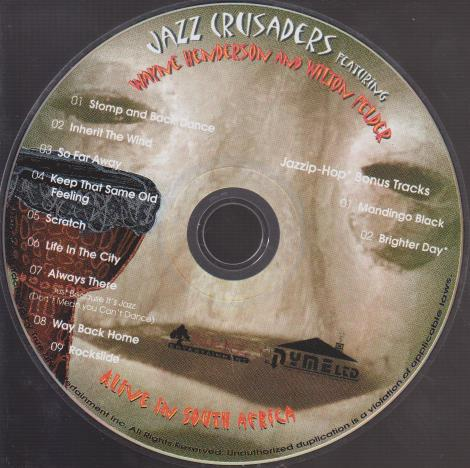 Jazz Crusaders: Alive In South Africa w/ No Artwork