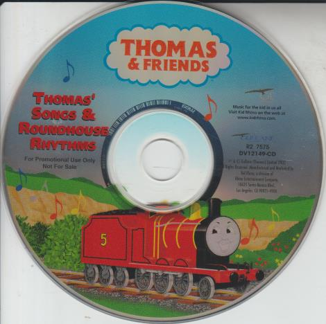 Thomas & Friends: Thomas' Songs & Roundhouse Rhythms Promo w/ No Artwork