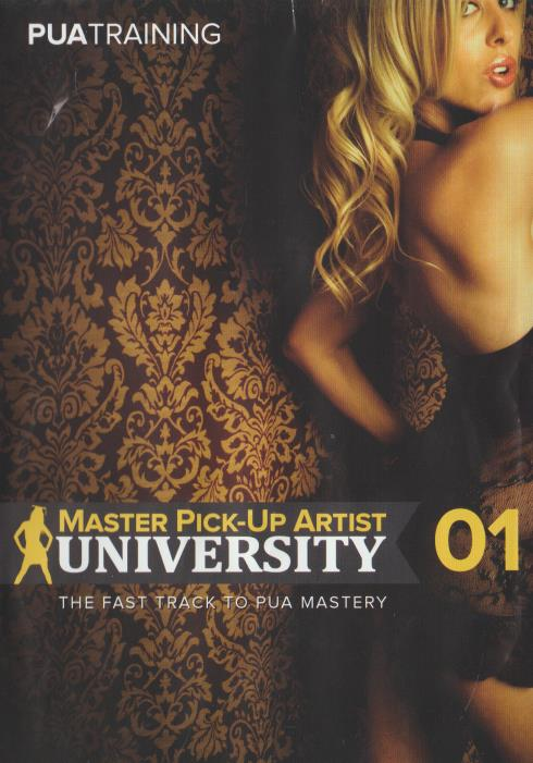 Master Pick-Up Artist University 01 4-Disc Set