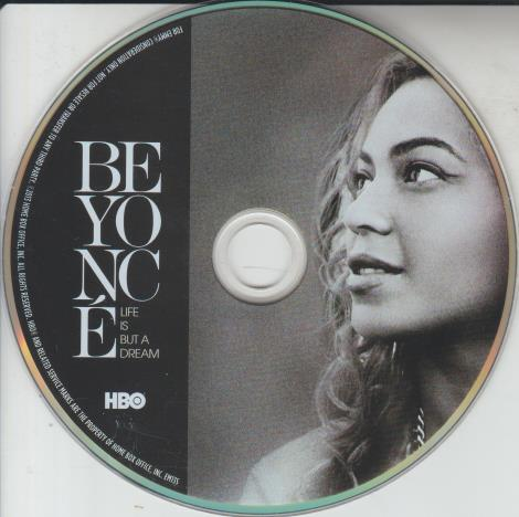 Beyonce: Life Is But A Dream: For Your Consideration w/ No Artwork