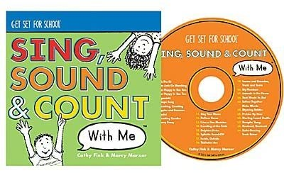Get Set For School: Sing, Sound & Count With Me w/ Artwork